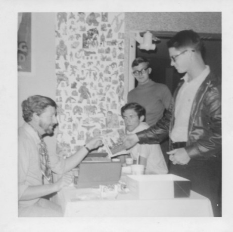 Greg Bear at San Diego's Golden State Comic-Minicon, March 21, 1970