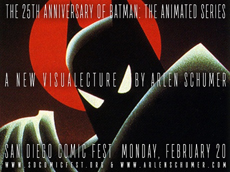 Arlen Schumer Presents The 25th Anniversary of Batman the Animated Series at San Diego Comic Fest