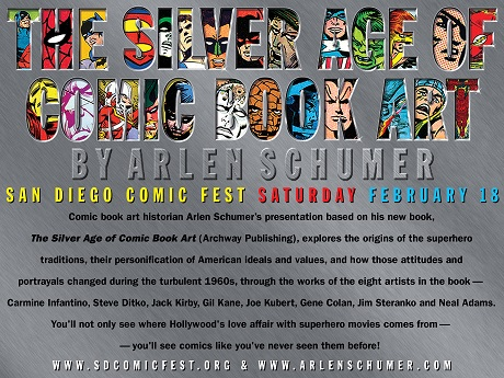 Arlen Schumer presents The Silver Age of Comic Book Art at San Diego Comic Fest