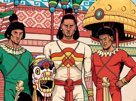 Aztec Empire graphic novel series by San Diego Comic Fest guest Paul Guinan