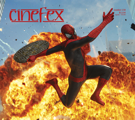 Cover of issue 138 of Cinefex magazine, which was founded by San Diego Comic Fest guest Don Shay