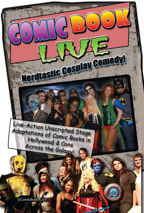San Diego Comic Fest Guests Comic Book Live improv group