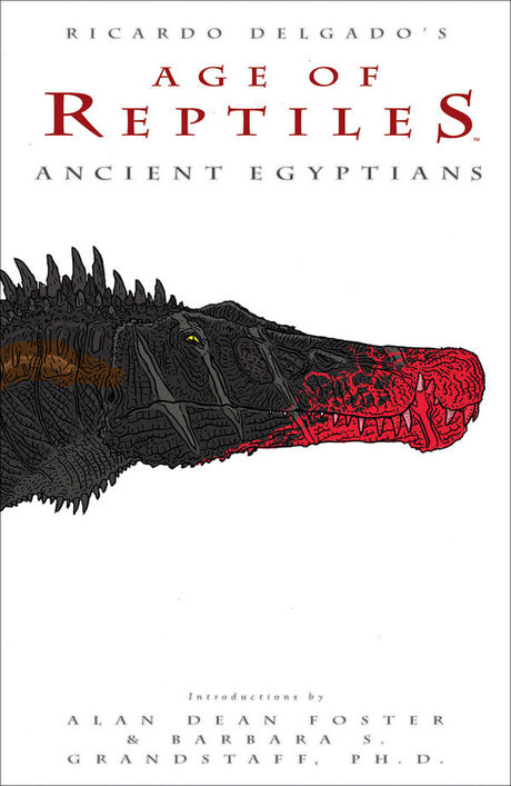 Cover of Age of Reptiles Ancient Egyptians by San Diego Comic Fest guest Ricardo Delgado
