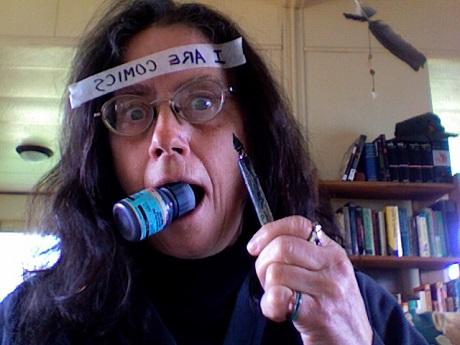 San Diego Comic Fest guest Donna Barr