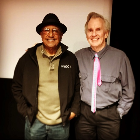 San Diego Comic Fest guests Floyd Norman and Michael Dooley at Art Center's