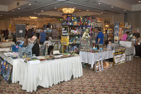 Exhibitors Hall at San Diego Comic Fest 2013