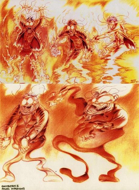 Henry Mayo Ghostbusters II Art