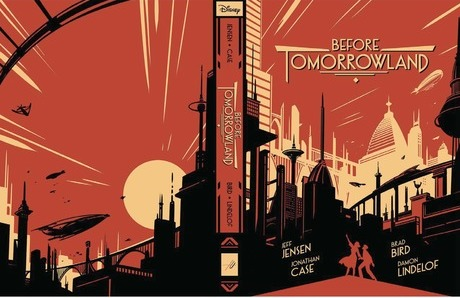 Before Tomorrowland cover by San Diego Comic Fest guest Jonathan Case