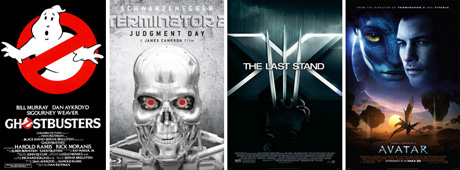 Films with visual effects by San Diego Comic Fest guest John Bruno - Ghostbusters, Terminator 2, X-Men: The Last Stand, and Avatar
