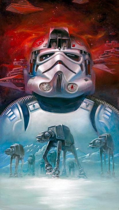 Star Wars ATAT Pilot by Lee Kohse