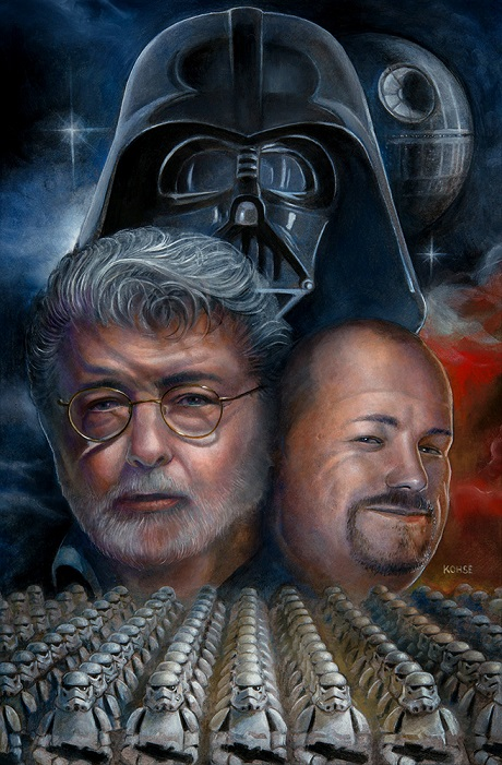 Star Wars Portraits by San Diego Comic Fest Guest Lee Kohse