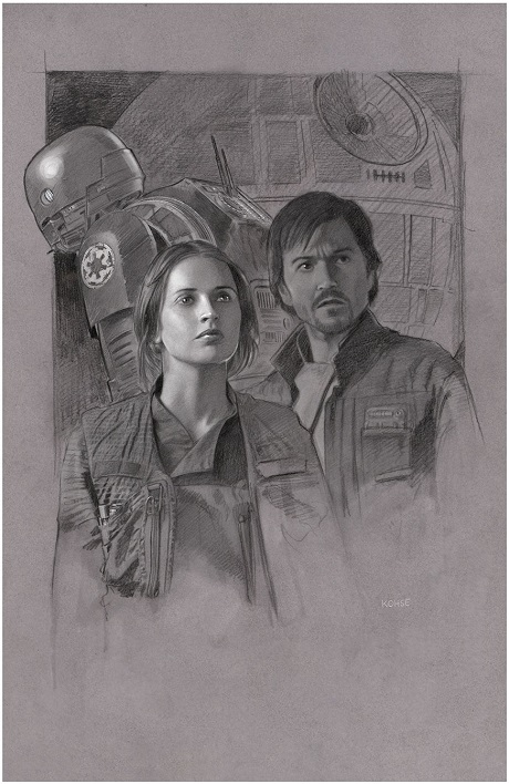 Rogue One by San Diego Comic Fest Guest Lee Kohse