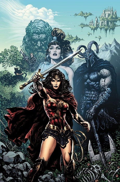 Wonder Woman by San Diego Comic Fest guest Liam Sharp