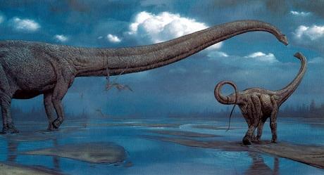 Dinosaur art by San Diego Comic Fest guest Mark Hallett