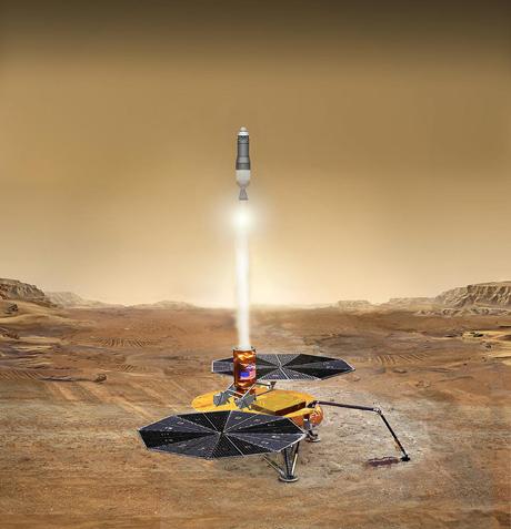 Mars Sample Return lander