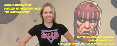 San Diego Comic Fest X-Men and Sentinels mock trial