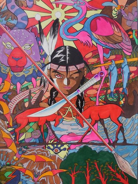 Native American by San Diego Comic Fest Guest Hiroshi Kanatani