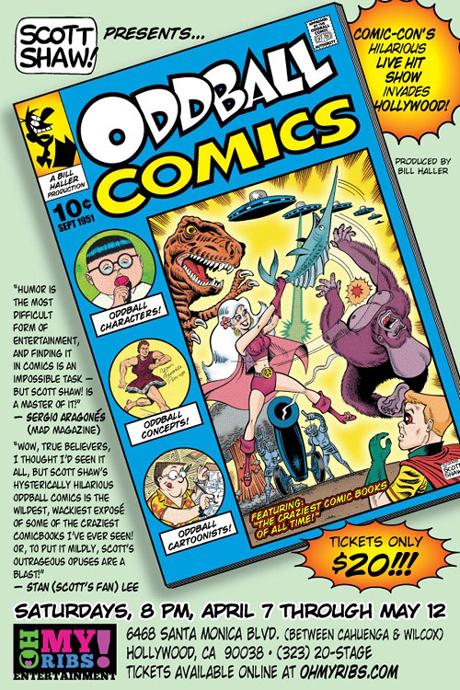 Scott Shaw's Oddball Comics Show