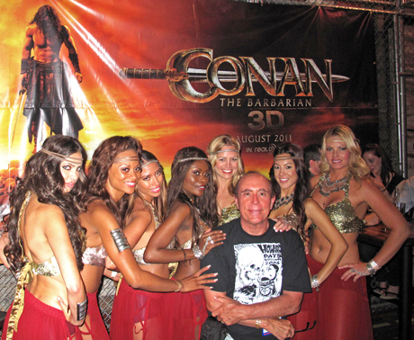 Paul M. Sammon at Conan movie promotion during Comic-Con 2011