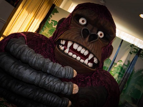 Kong sculpture created by Robert Maya for 2016 San Diego Comic Fest.