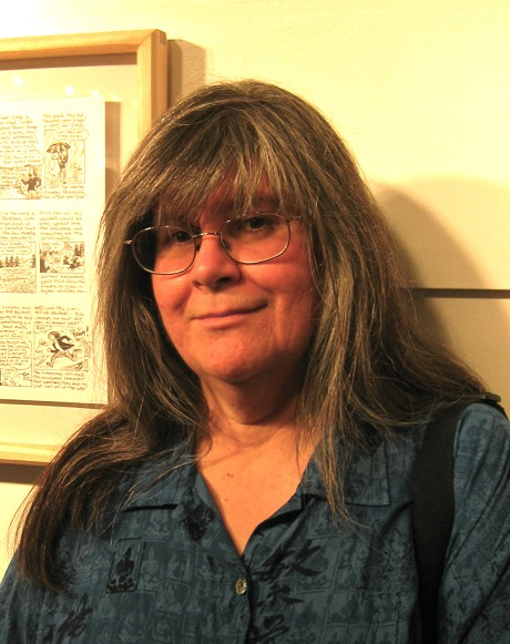 San Diego Comic Fest guest Roberta Gregory
