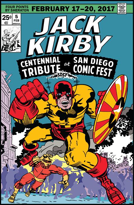 Jack Kirby Centennial Celebration at Comic Fest 2017