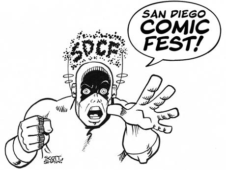 San Diego Comic Fest Logo