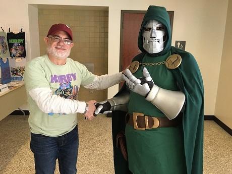 San Diego Comic Fest Guest Steve Sherman
