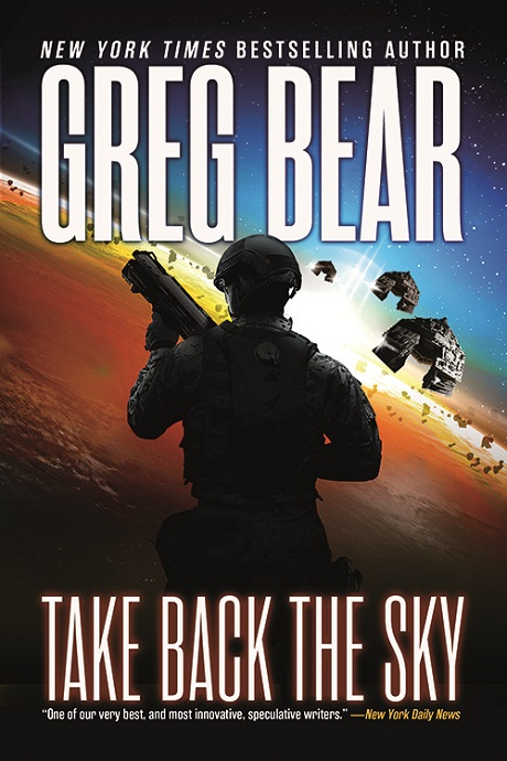 cover of Take Back the Sky by San Diego Comic Fest guest Greg Bear