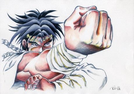Thunder Fist by San Diego Comic Fest Guest Hiroshi Kanatani