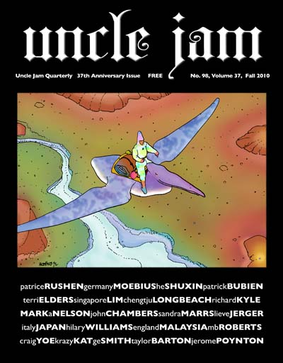 San Diego Comic Fest guest Phil Yeh's Uncle Jam magazine