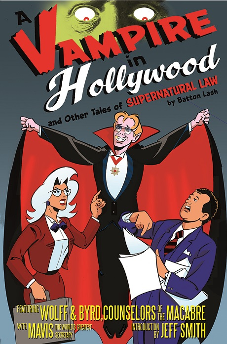 Vampire in Hollywood cover by San Diego Comic Fest guest Batton Lash