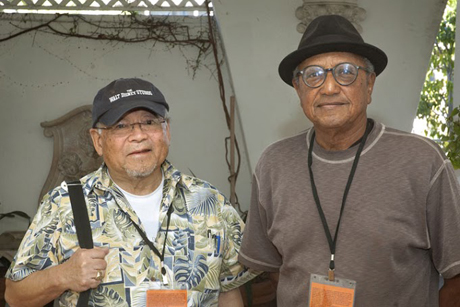 Two of our favorite guests: animator Willie Ito and Disney Legend Floyd Norman.