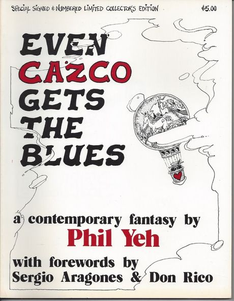 San Diego Comic Fest guest Phil Yeh's graphic novel Even Cazco Gets the Blues