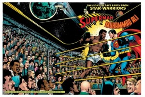 Superman vs. Muhammad Ali by San Diego Comic Fest 2014 Guest of Honor Neal Adams